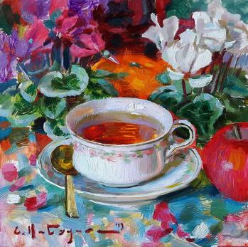 Elena KATSYURA ~ A Cup of Tea - Catherine La Rose (2)