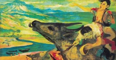 Hendra-Gunawan-Buffalo-Cowboy-S288000-Sotheby's Hongkong