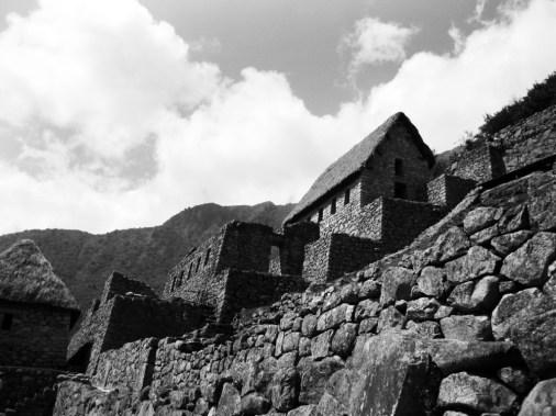 Machu-Picchu-House-BW