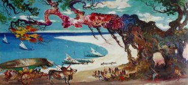 Pantai-dan-Gerobak-Hendra-Gunawan