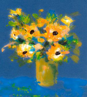 1-flowers-on-blue-background-cuiava-laurentiu
