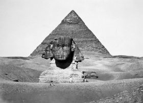 The-Pyramid-of-Cheops-and-the-Sphinx-photograph-by-Antoine-Beato-ca.-1880-2