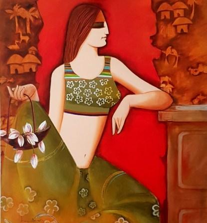 1566500445_skamal_devnath_sakhi_36x36_acrylic_on_canvas_75000_3