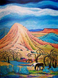 535f7e29352c19fb23d4faedefefe69c--desert-art-southwest-art