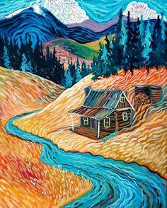 5810c26d6db253178ca9617962fc689d--art-houses-house-art