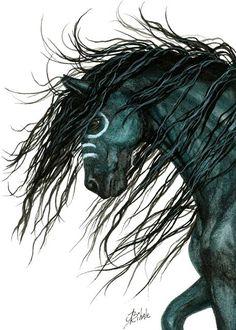 d9325a90729aac264dc337ec9888beda--indian-horses-horse-drawings