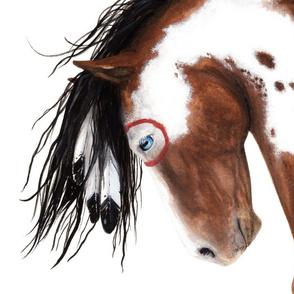 Majestic_Pinto_Horse_