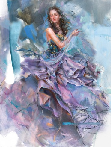 Woven-Dreams-I-Anna-Razumovskaya-Limited-Edition-Print-figurative-art