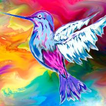hummingbird-rhapsody-abstract-angel-artist-stephen-k