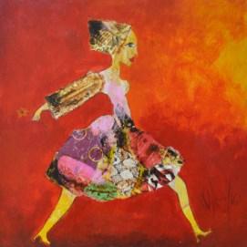 unique-contemporary-artwork-valerie-depadova-une-fleur-a-la-main