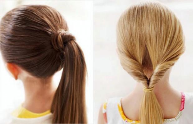 Прически для девочек на длинные волосы17