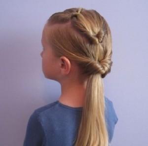 Прически для девочек на длинные волосы18