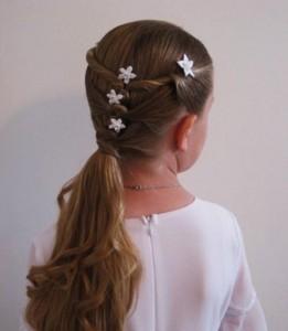 Прически для девочек на длинные волосы20