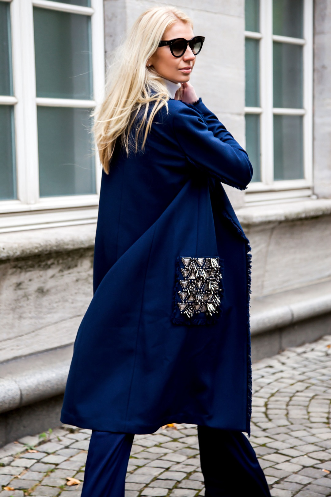 By Malene Birger coat in blue