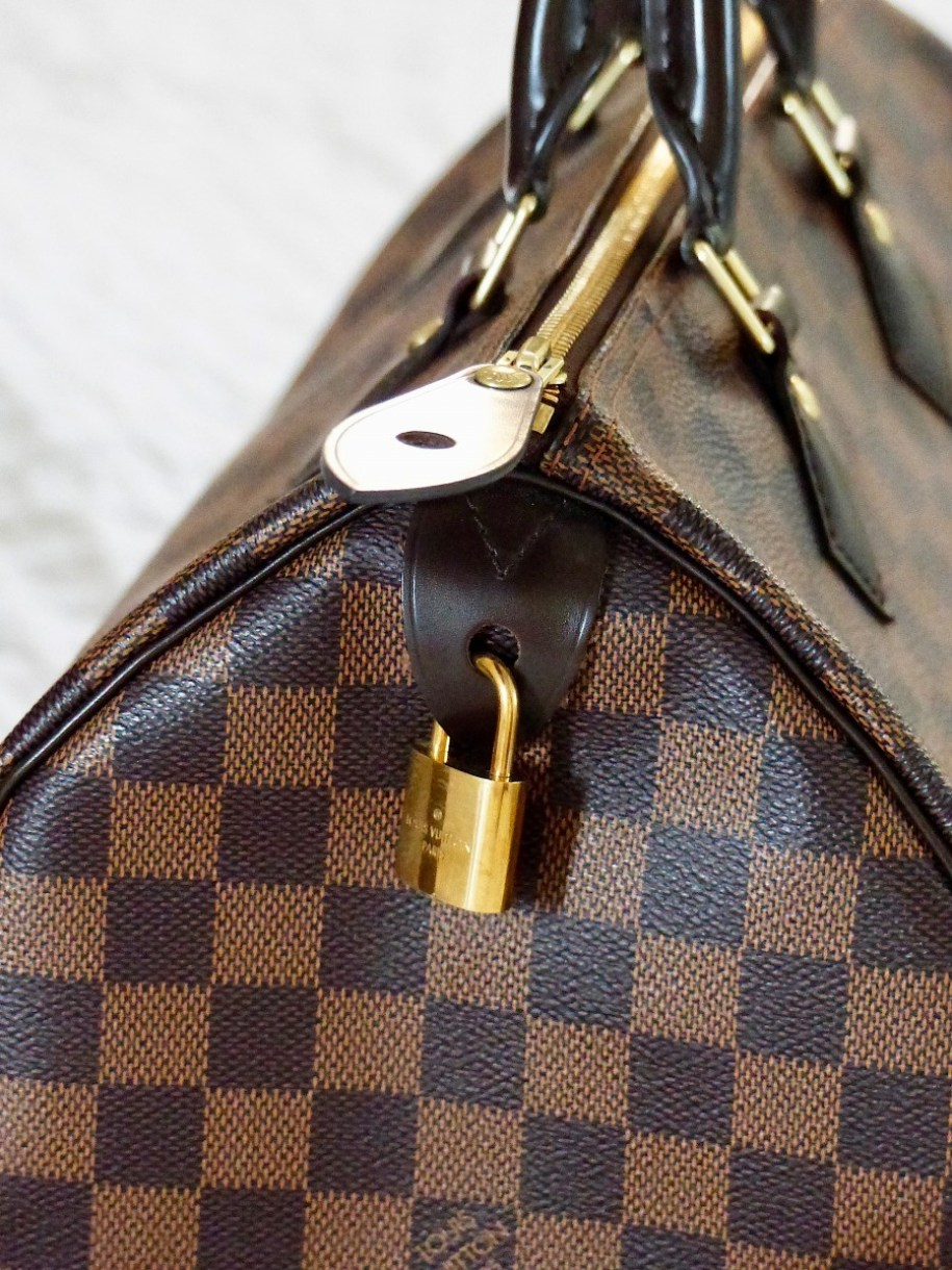 My first designer bag - Louis Vuitton Speedy