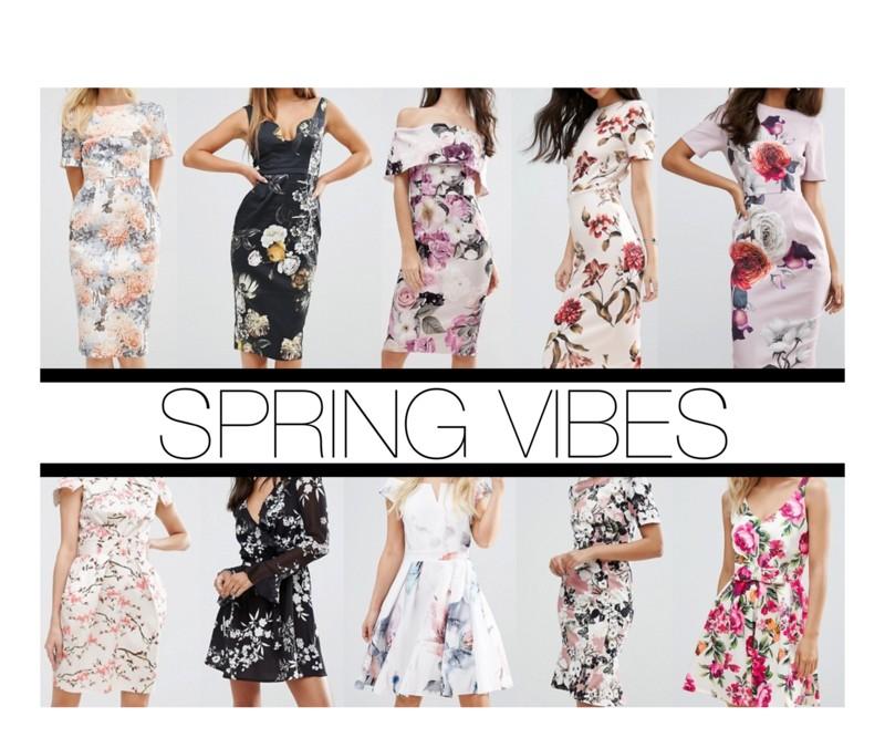Spring, Dresses, Floral, Asos, Kleider
