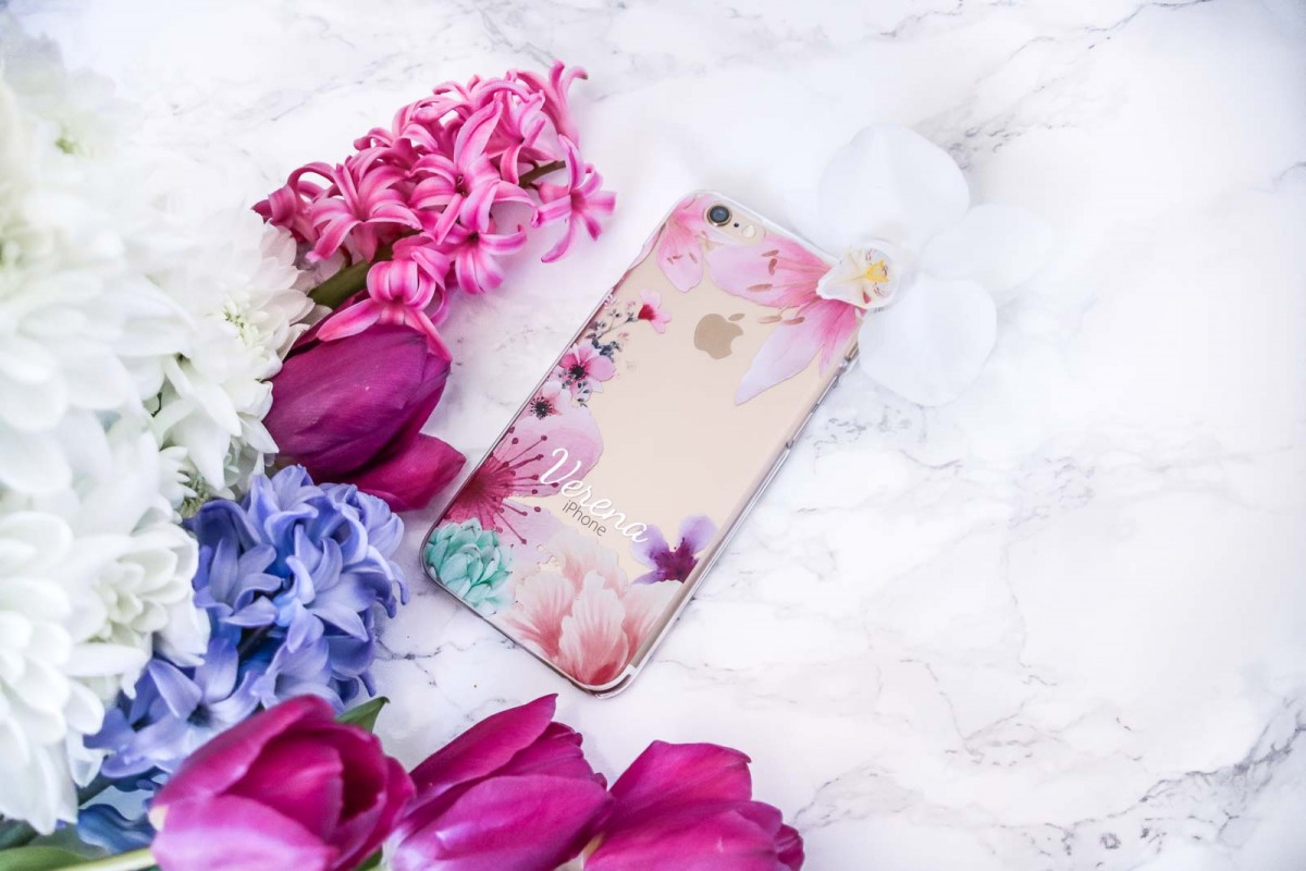 iPhone, Case, Dein Design, Flowers, Giveaway
