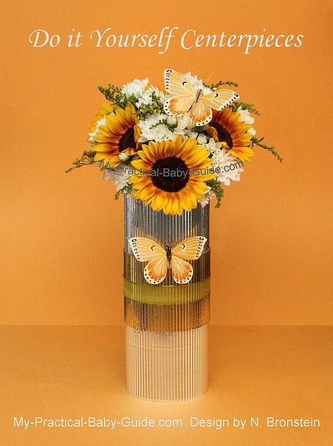 Sunflower Centerpieces Baby Shower : sunflower, centerpieces, shower, Butterfly, Flower, Centerpieces, Pracrical, Shower, Guide