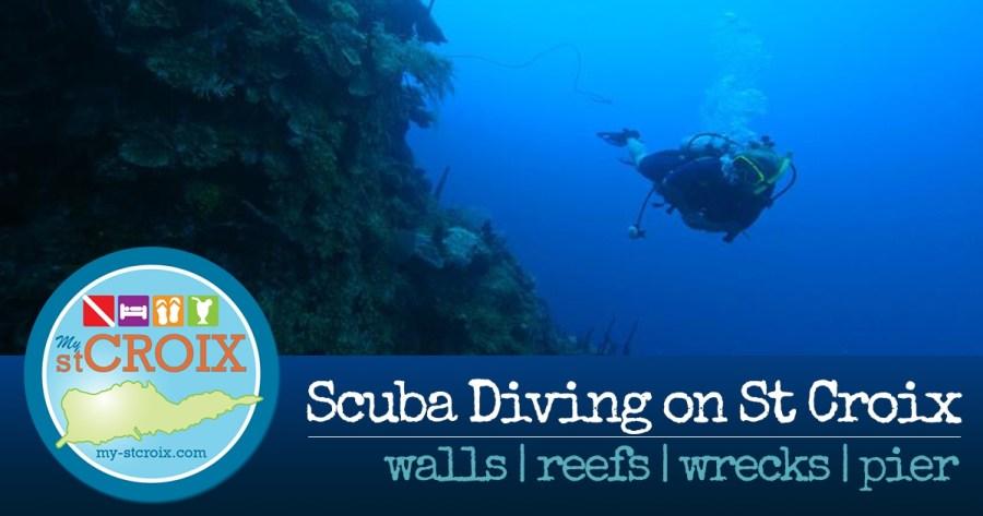 Scuba Diving on St Croix