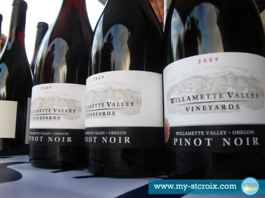 Taste of St Croix Williamette Valley Vineyards