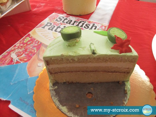Taste of St Croix Starfish Patisserie