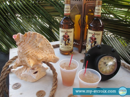 A Taste of St Croix Diageo Captain Morgan