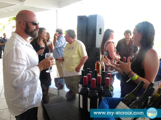 Taste of St Croix Pre-Event Wine Tasting