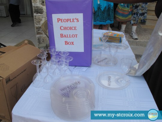 Taste of St Croix Peoples Choice