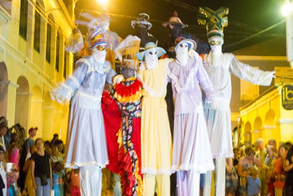 Mocko Jumbie Jump Up Christiansted St Croix