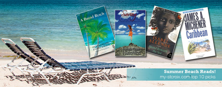 Top 10 St Croix Inspired Summer Beach Reads
