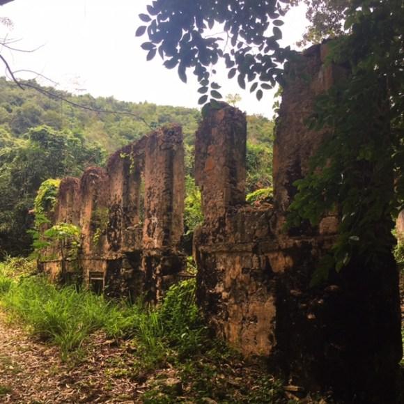 ruins at lawaetz st croix