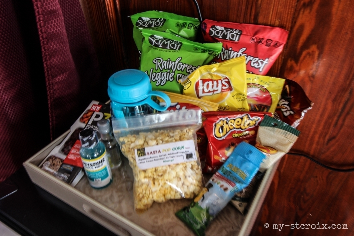 The Fred Mini Bar Snacks
