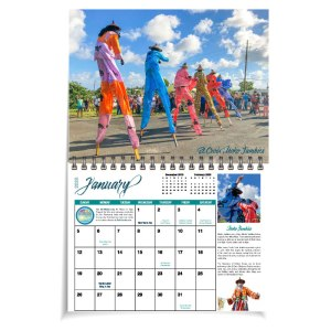 St Croix 2020 Calendar January