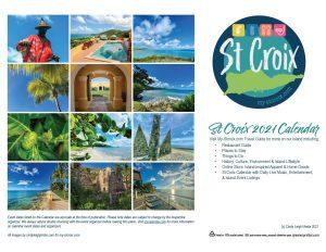 2021 St Croix Calendar Back Page