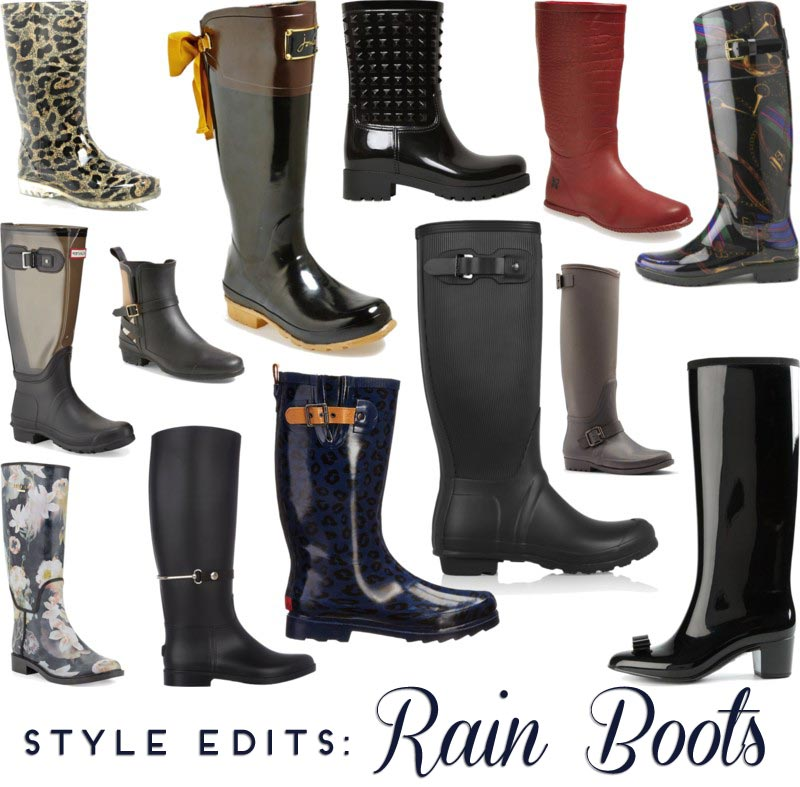 Style Therapy Edits- Rain Boots