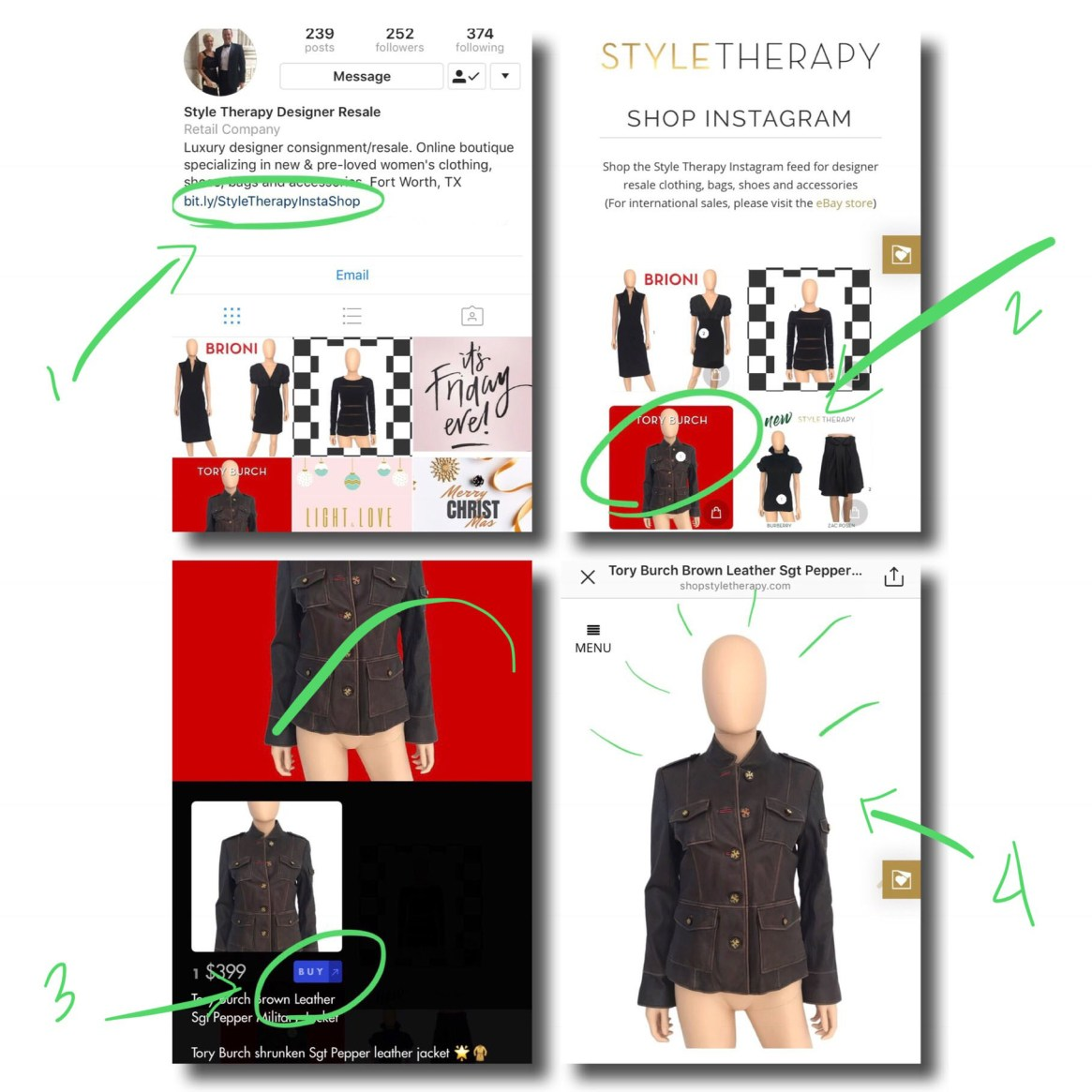 Shop the Style Therapy Instagram Feed