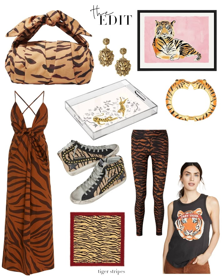 The Edit Tiger Stripes- Tiger Is The New Leopard