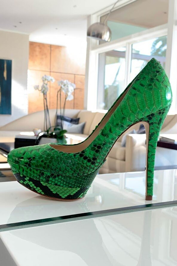 Alexandre-Birman-Neon-Green-Platform-Pumps