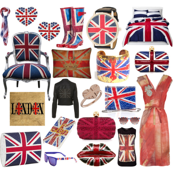 Anglomania All things Union Jack