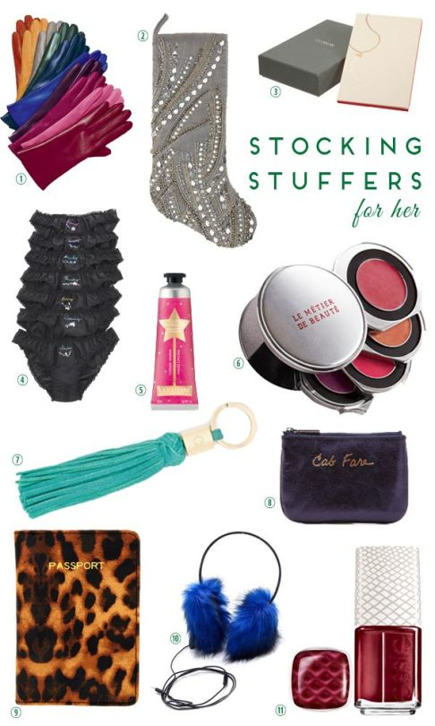 Stocking Stuffers for Her 2012