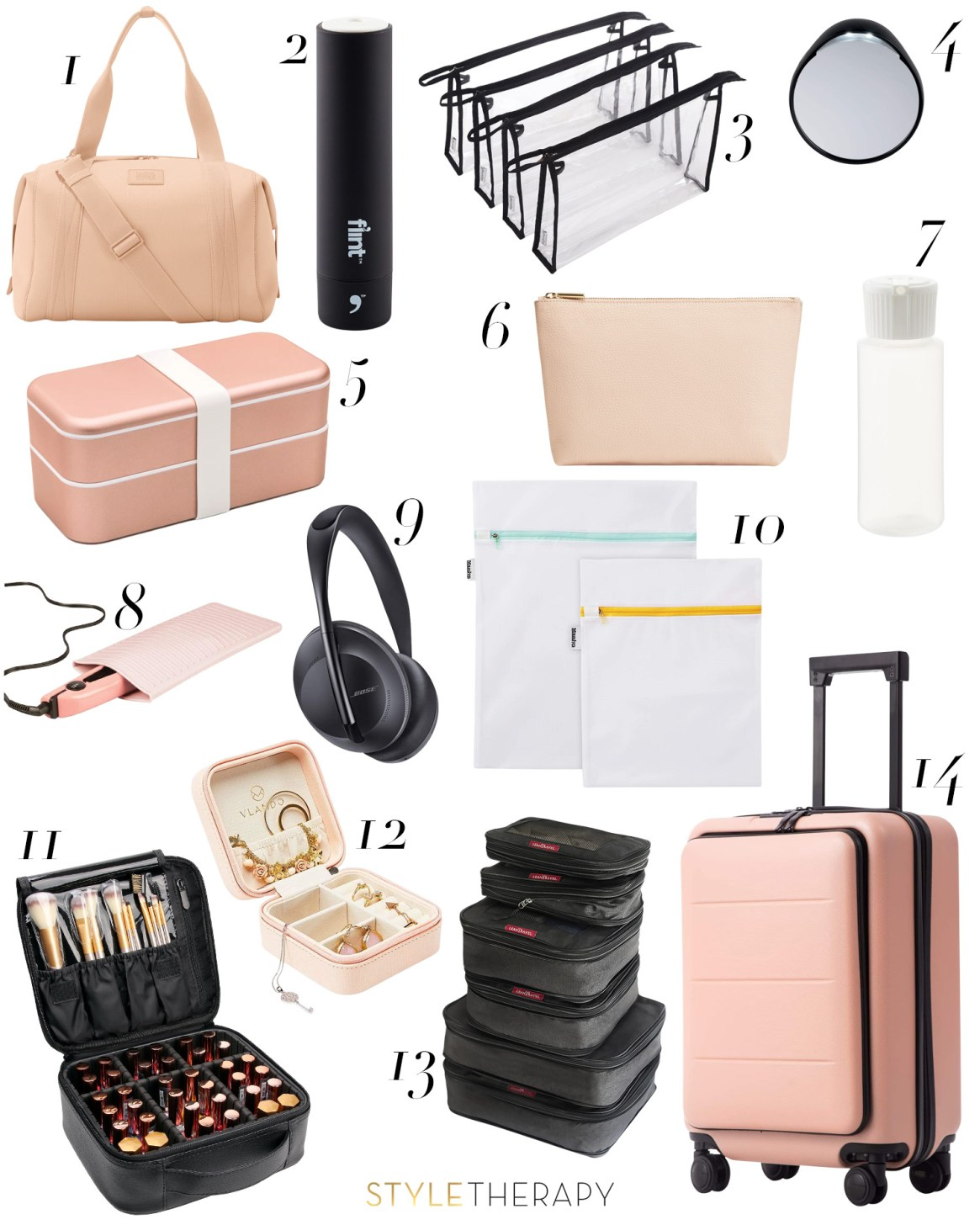 Pack Like A Pro Travel Necessities