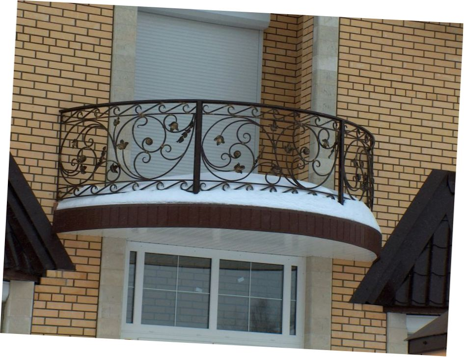Wrought Iron Front Porch Ideas