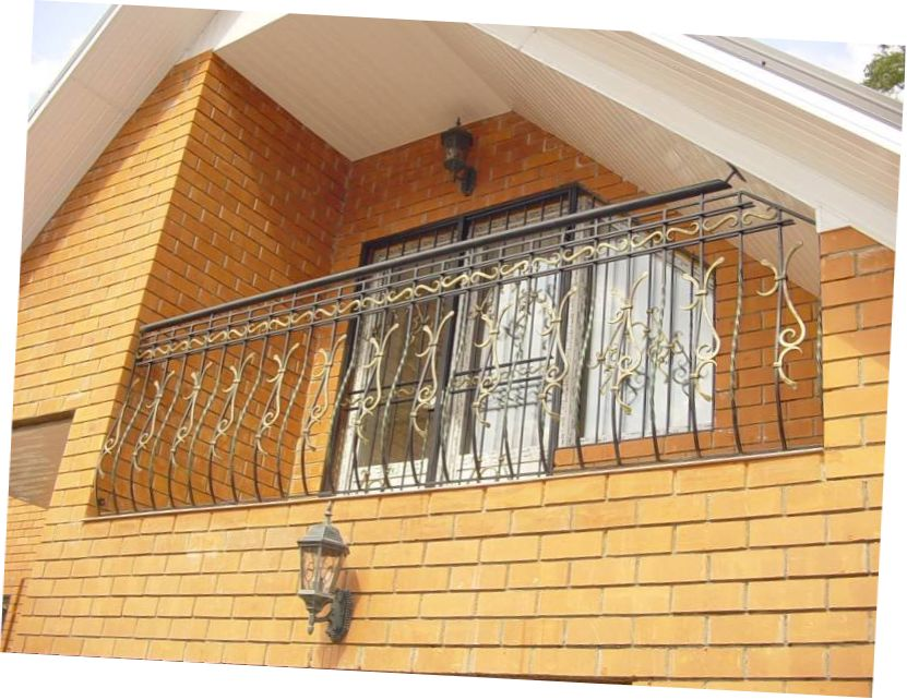 Beautiful Ideas for Balcony Grill Design  MySweetHouse