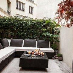 Design My Living Room Color Scheme Burgundy Curtains Parisian Apartment With A Cozy Veranda - My-sweet-house