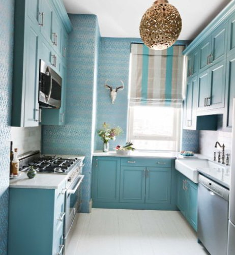 blue kitchen appliances instant hot water systems small in new york city - my-sweet-house