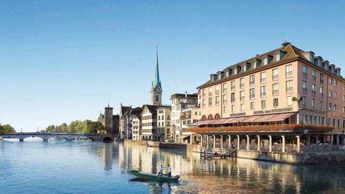 Отель Zum Storchen. Цюрих