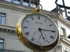 Часовой магазин Beyer. Цюрих