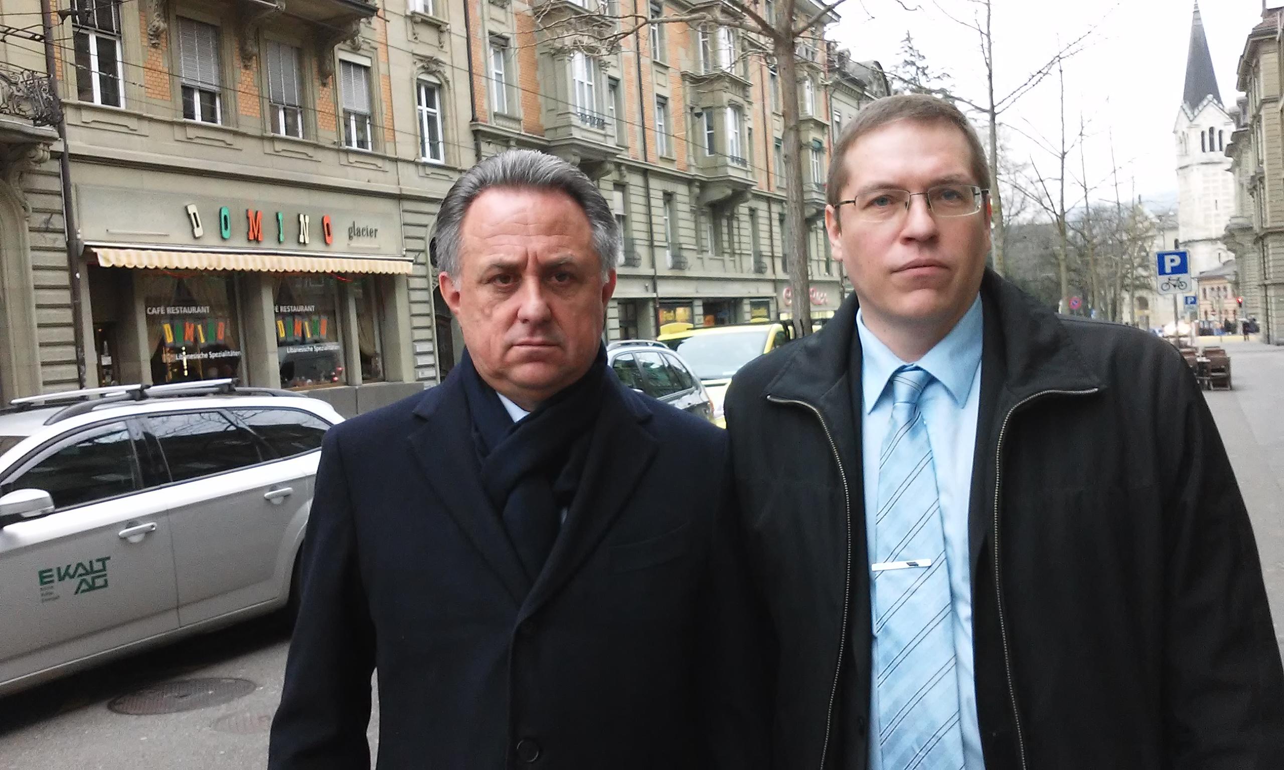 С Виталием Леонтьевичем Мутко