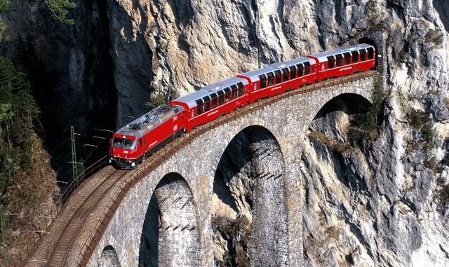 Железная дорога. Швейцария