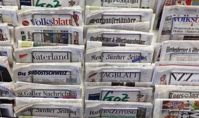 Газеты Швейцарии